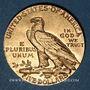 Monnaies Etats Unis. 5 dollars 1913. Tête d'indien. (PTL 900‰. 8,36 g)