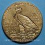 Monnaies Etats Unis. 5 dollars 1914. Tête d'indien. (PTL 900‰. 8,36 g)