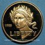 Monnaies Etats Unis. 5 dollars 1988. Jeux Olympiques