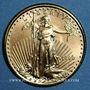 Monnaies Etats Unis. 5 dollars 1999. (PTL 917/1000. 3,39 g)