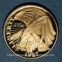 Monnaies Etats Unis. 5 dollars (half eagle) 1987W. Bicentenaire de la Constitution. (PTL 900/1000. 8,36 g)