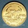 Monnaies Etats Unis. 5 dollars MCMLXXXVII (1987). 917 /1000. 3,39 gr