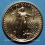 Monnaies Etats Unis. 5 dollars MCMXCI (1991). (PTL 917‰. 3,39 g)