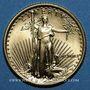 Monnaies Etats Unis. 5 dollars MCMXCI (1991). (PTL 917/1000. 3,39 g)