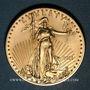 Monnaies Etats Unis. 50 dollars 2011. American eagle gold bullion. (PTL 916,7/1000. 33,931 g)