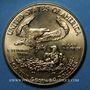 Monnaies Etats Unis. 50 dollars MCMXC (1990). (PTL 917/1000. 33,93 g)