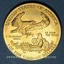 Monnaies Etats Unis. 50 dollars MCMXCI (1991). American eagle gold bullion. (PTL 917/1000. 33,93 g)