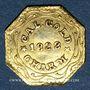 Monnaies Etats Unis. Californie. 1/2 California Gold-Charm 1888