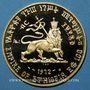 Monnaies Ethiopie. Hailé Selassié I (1930-1936, 1941-1974). 100 dollars 1972. (PTL 900/1000. 40 g)