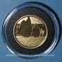 Monnaies Finlande. 100 euro 2016. Eino Leino 1878-1926. (PTL 917‰. 5,65 g)