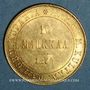 Monnaies Finlande. Alexandre II (1855-1881). 10 markkaa 1879 S. (PTL 900‰. 3,23 g)