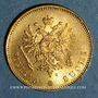 Monnaies Finlande. Nicolas II (1894-1917). 20 markkaa 1912 S. (PTL 900‰. 3,23 g)