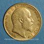 Monnaies Grande Bretagne. Edouard VII (1901-1910). 1/2 souverain 1904. (PTL 917‰. 3,99 g)