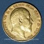 Monnaies Grande Bretagne. Edouard VII (1901-1910). 1/2 souverain 1910. (PTL 917/1000. 3,99 g)