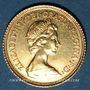 Monnaies Grande Bretagne. Elisabeth II (1952- ). 1/2 souverain 1982. (PTL 917/1000. 3,99 g)