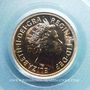 Monnaies Grande Bretagne. Elisabeth II (1952- ). 1/2 souverain 2001. (PTL 917‰. 3,99 g)