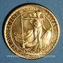Monnaies Grande Bretagne. Elisabeth II (1952- ). 100 livres 1988. 917 /1000. 34,05 g