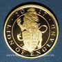 Monnaies Grande Bretagne. Elisabeth II (1952- ). 25 livres 2017. (PTL 999,9‰. 7,80 g (= 1/4 once)