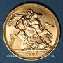 Monnaies Grande Bretagne. Elisabeth II (1952- /). Souverain 1962. (PTL 917‰. 7,99 g)