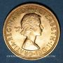 Monnaies Grande Bretagne. Elisabeth II (1952- /). Souverain 1962. (PTL 917/1000. 7,99 g)