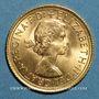 Monnaies Grande Bretagne. Elisabeth II (1952- /). Souverain 1965. (PTL 917‰. 7,99 g)