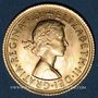 Monnaies Grande Bretagne. Elisabeth II (1952- /). Souverain 1966. (PTL 917‰. 7,99 g)