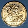 Monnaies Grande Bretagne. Elisabeth II (1952- /). Souverain 1980. (PTL 917/1000. 7,99 g)