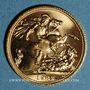 Monnaies Grande Bretagne. Elisabeth II (1952- /). Souverain 1982. (PTL 917‰. 7,99 g)