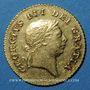 Monnaies Grande Bretagne. Georges III (1760-1820). 1/2 guinée 1810. (PTL 917/1000. 4,175 g)