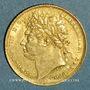 Monnaies Grande Bretagne. Georges IV (1820-1830). 1 souverain 1821. (PTL 917‰. 7,99 g)