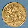Monnaies Grande Bretagne. Georges V (1910-1936). 1/2 souverain 1911. (PTL 917‰. 3,99 g)