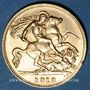 Monnaies Grande-Bretagne. Georges V (1910-1936). 1/2 souverain, 1913. (PTL 917‰. 3,99 g)
