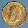 Monnaies Grande Bretagne. Georges V (1910-1936). 1/2 souverain 1913. (PTL 917/1000. 3,99 g)