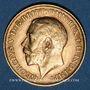 Monnaies Grande Bretagne. Georges V (1910-1936). 1/2 souverain 1914. (PTL 917/1000. 3,99 g)