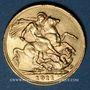 Monnaies Grande Bretagne. Georges V (1910-1936). Souverain 1911. Londres. (PTL 917‰. 7,99 g)