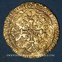 Monnaies Grande Bretagne. Henri IV (1413-1422). Noble d'or