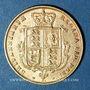 Monnaies Grande Bretagne. Victoria (1837-1901). 1/2 souverain 1876. (PTL 917‰. 3,99 g)
