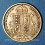 Monnaies Grande Bretagne. Victoria (1837-1901). 1/2 souverain 1892. (PTL 917‰. 3,99 g)