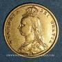 Monnaies Grande Bretagne. Victoria (1837-1901). 1/2 souverain 1892 (PTL 917‰. 3,99 g)