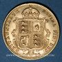 Monnaies Grande-Bretagne. Victoria (1837-1901). 1/2 souverain 1892. (PTL 917/1000. 3,99 g)