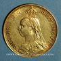 Monnaies Grande Bretagne. Victoria (1837-1901). 2 livres 1887. (PTL 917‰. 15,98 g)