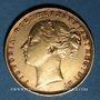 Monnaies Grande Bretagne. Victoria (1837-1901). Souverain 1872. (PTL 917‰. 7,99 g)