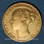 Monnaies Grande Bretagne. Victoria (1837-1901). Souverain 1874. (PTL 917‰. 7,99 g)