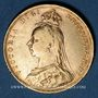 Monnaies Grande Bretagne. Victoria (1837-1901). Souverain 1889. Londres. (PTL 917‰. 7,99 g)
