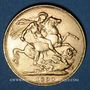Monnaies Grande Bretagne. Victoria (1837-1901). Souverain 1890, Londres. (PTL 917/1000. 7,99 g)