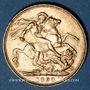 Monnaies Grande Bretagne. Victoria (1837-1901). Souverain 1898. (PTL 917‰. 7,99 g)