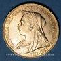Monnaies Grande Bretagne. Victoria (1837-1901). Souverain 1900. (PTL 917‰. 7,99 g)