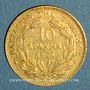 Monnaies Grèce. Georges I (1863-1913). 10 drachmes 1876 A. (PTL 900‰. 3,22 g)