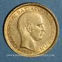 Monnaies Grèce. Georges I (1863-1913). 20 drachmes 1884 A. (PTL 900‰. 6,45 g)