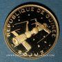 Monnaies Guinée. République. 2 000 francs 1970. Soyouz. (PTL 900‰. 8 g)
